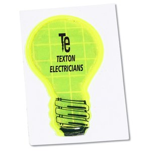Reflective Sticker - Light Bulb