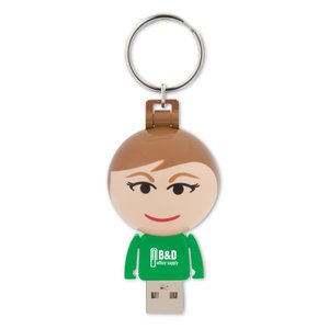 Ball USB People - 2GB - Female Main Image