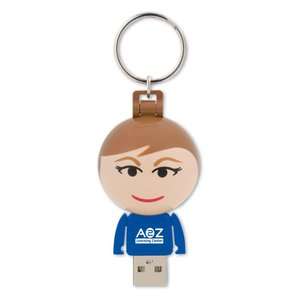 Ball USB People - 4GB - Female Main Image