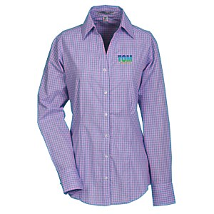 Easy Care Plaid Dress Shirt - Ladies' Main Image
