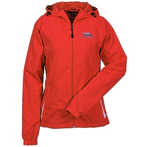 Colorblock Hooded Jacket - Ladies' Main Image