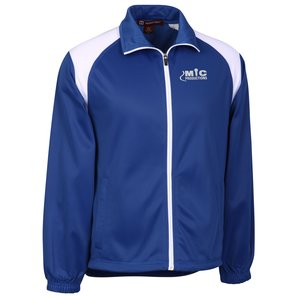 Harriton Tricot Track Jacket - Men's Main Image