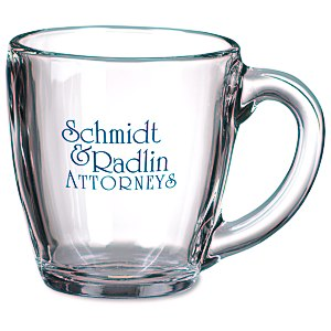 Tapered Glass Mug - 16 oz.