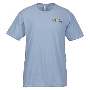 Gildan SoftStyle T-Shirt - Men's - Embroidered - Colors Main Image