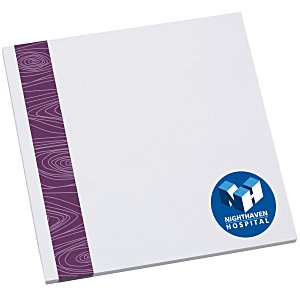 Bic Sticky Note - Designer - 3x3 - Modern Grain - 25 Sheet