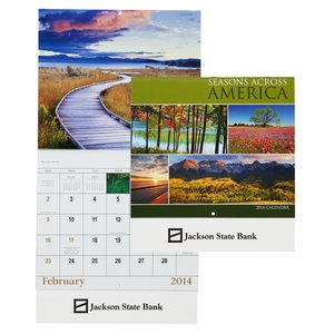 Seasons Across America 2014 Calendar - Closeout Main Image
