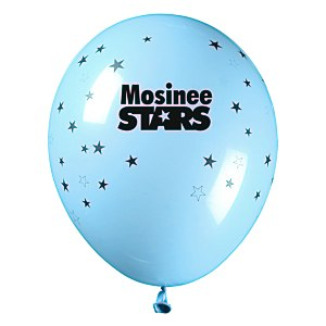 "Balloon - 11"" Standard Colors - Stars Main Image"