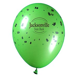 "Balloon - 11"" Standard Colors - Money"