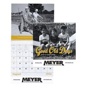 Good Old Days Calendar - Spiral Main Image
