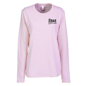 Hanes ComfortSoft LS Tee - Ladies' - Colors
