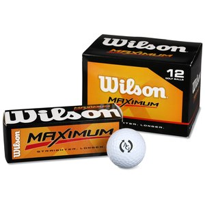 Wilson Maximum Golf Ball - Closeout