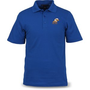 Port Authority Textured Polo with Wicking - Men's Main Image