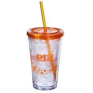 Dotty Color Scheme Spirit Tumbler - 16 oz. - 24 hr Main Image