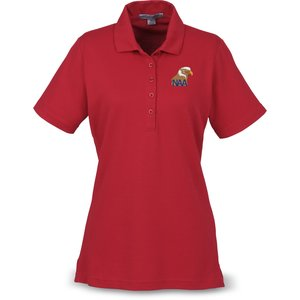 Port Authority Textured Polo with Wicking - Ladies' Main Image