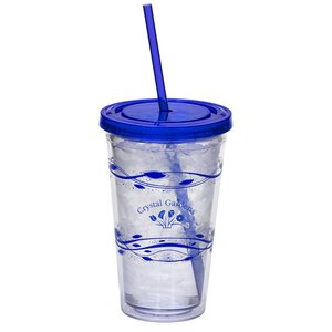 Fluttery Color Scheme Spirit Tumbler - 16 oz. - 24 hr Main Image