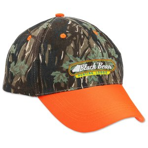 Two-Tone Camouflage Cap Main Image