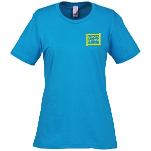 Anvil Ringspun 4.5 oz. T-Shirt - Ladies' - Colors Main Image