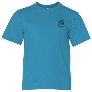 Anvil Ringspun 4.5 oz. T-Shirt - Youth - Colors Main Image