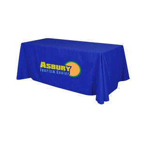 Closed-Back Table Throw - 6' - Heat Transfer