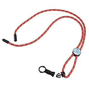 Nylon Power Cord Lanyard - Round - Multi Main Image