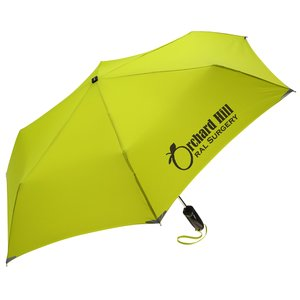 "WalkSafe Auto Open/Close Umbrella -42"" Arc-Closeout Colors Main Image"