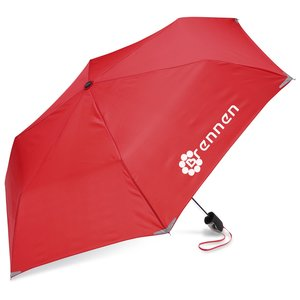 "Compact Walk Safe Umbrella - 40"" Arc - Overstock Main Image"