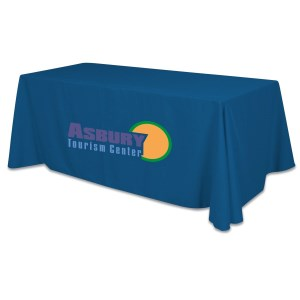 Closed-Back Table Throw - 6' - Heat Transfer - 24 hr Main Image
