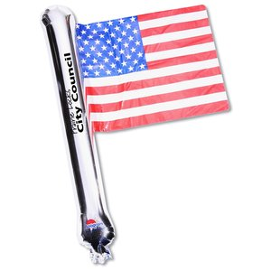Rally Flag Balloon - USA Flag - Closeout Main Image