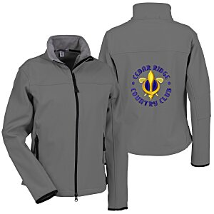 Port Authority Soft Shell Jacket - Ladies' - Back Embroidered Main Image