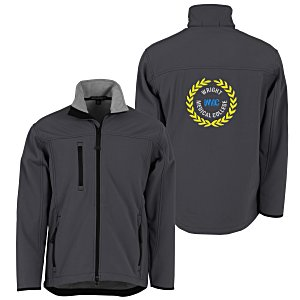 Port Authority Soft Shell Jacket - Men's - Back Embroidered Main Image