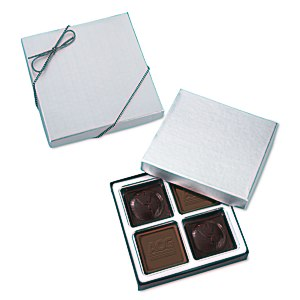 Molded Chocolate Squares - 4 Pieces Main Image