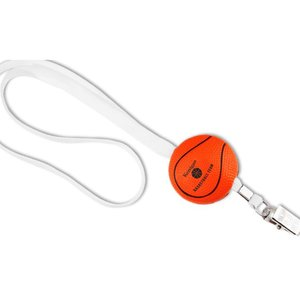Sport Foam with Lanyard - Basketball - Closeout