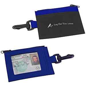 Zip Pouch ID Holder - Colors Main Image