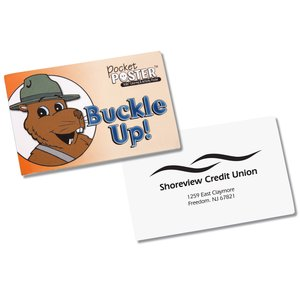 Pocket Poster - Buckle Up - Closeout Main Image