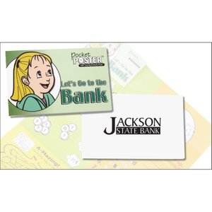 Pocket Poster - Let's Go To the Bank - Closeout