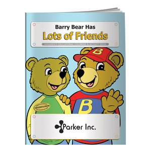 Barry Bear Has Lots of Friends Coloring Book - Overstock Main Image