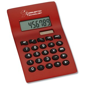Curvaceous Metal Calculator - Closeout Main Image