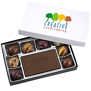 Truffles & Chocolate Bar - 8 Pieces - Full Color Main Image