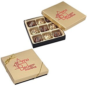 Truffles - 9 Pieces - Gold Box Main Image