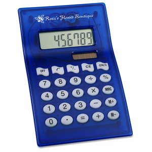Dual Power Curvaceous Calculator - Closeout Main Image