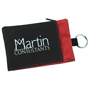 Folding Wallet with Key Ring Main Image