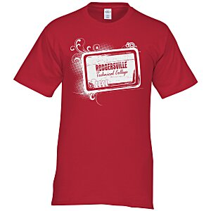 Hanes Tagless T-Shirt - Screen - Colors - Tech Design Main Image