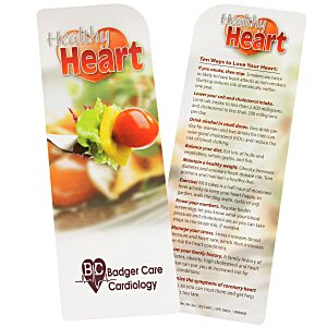 Just the Facts Bookmark - Healthy Heart - 24 hr Main Image