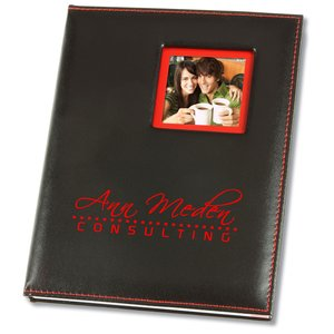 Color Edge Photo Frame Journal - Closeout Main Image