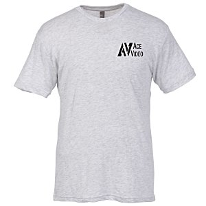 Next Level Tri-Blend Crew T-Shirt - Men's - White Main Image