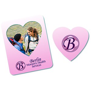 Bic Magnetic Photo Frame - Heart - 24 hr Main Image