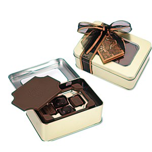 Milk Chocolate Box with Chocolate Bites - Small Main Image