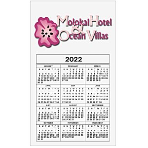 Bic 20 mil Calendar Magnet - Medium - 24 hr Main Image