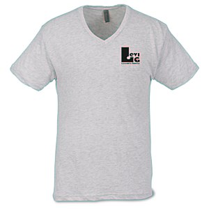 Next Level Tri-Blend V-Neck T-Shirt - Men's - White Main Image