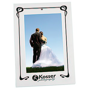 "Laminated Photo Frame - 6"" x 4"" - White"